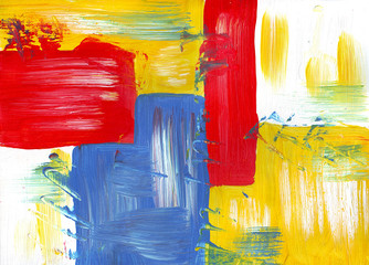 multicolor acrylic paint texture abstract drawing