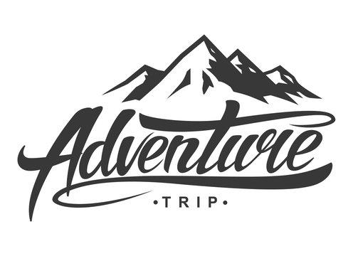Adventure vintage logo