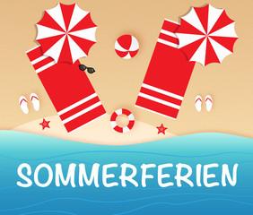 Sommerferien / Urlaub / Strand / Meer