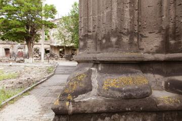 Armenian old city Gyumri. Panoramic views.