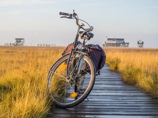 Mit dem Fahrrad an die Nordsee