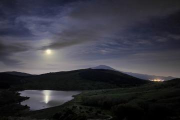 Lake Under The Moonlight, Sicily