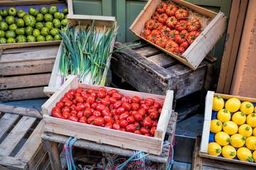 Antibes, Marktstand