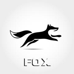 elegant Jump fox logo