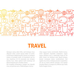 Travel Line Design Template