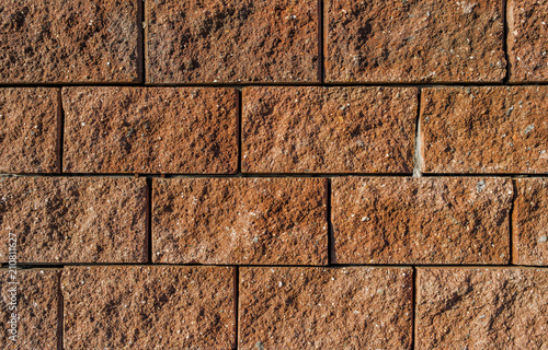 Concrete tiles background. Finishing tiles. The wall of the building ...