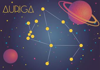 The constellation Auriga