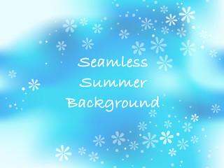 シームレスな夏の背景イラスト