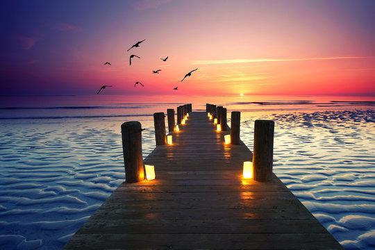 Romantik am Wattenmeer
