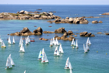 Régate en Bretagne