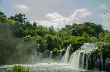 Waterfalls in Spring
