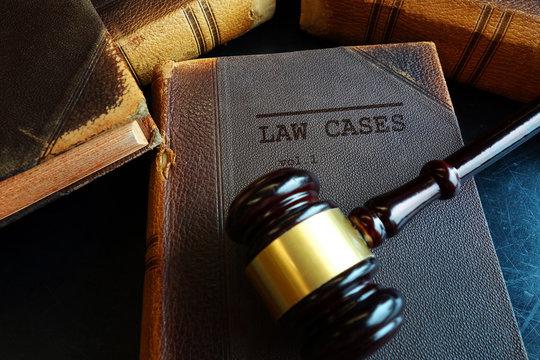 Law Cases gavel