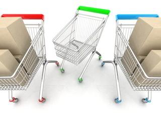 concept of sales .3d Illustration.