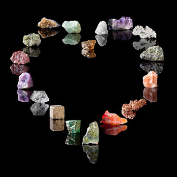 Geology collection of minerals