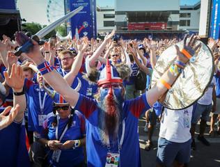 FIFA World Cup - Group D - Iceland vs Croatia