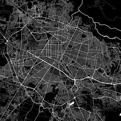 Area map of Guadalajara, Mexico