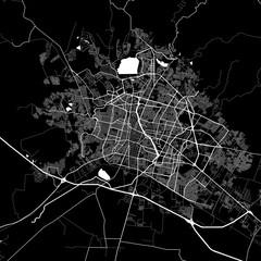 Area map of León, Mexico