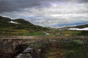 Wild Norway mountains