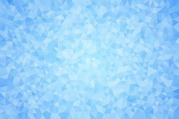 Obraz Błękitne geometryczne tło - fototapety do salonu