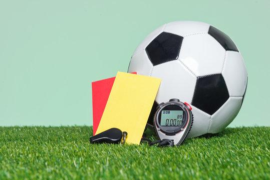 Football Soccer referee equipment