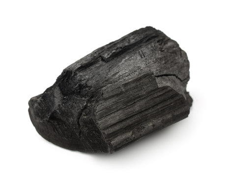 Piece of charcoal