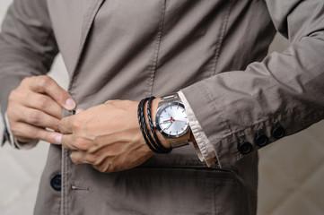 bracelets on the wrist