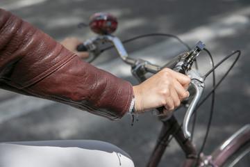 Bicycle ride in Paris