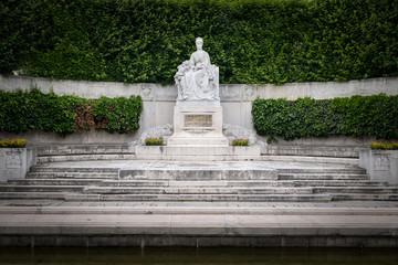 Monument of empress Elisabeth of Austria in Volksgarten Vienna