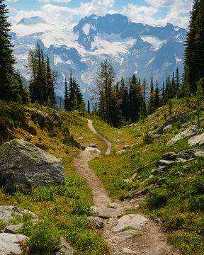 Jumbo Pass hiking trail, British Columbia, Canada