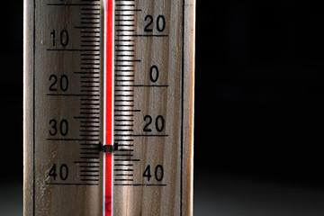 Termometro di legno