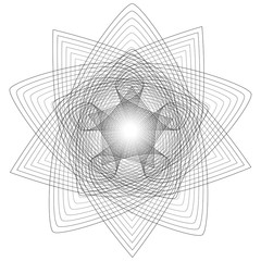 Sacred geometry signs. Set of symbols and elements. Alchemy, religion, philosophy