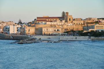 Otranto at sunset - Italy