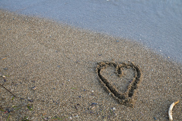 Hearts on Sand