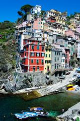 Holidays - Riomaggiore - Liguria - Italy - Cinque Terre