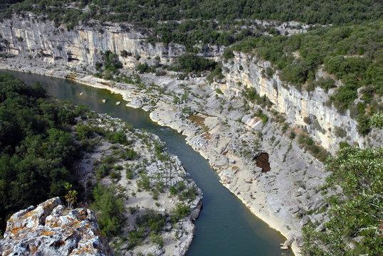 Gorges de l'Ardèche, département de l'Ardèche, France