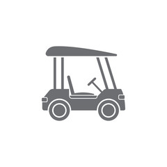 Golf Cart icon. Simple element illustration. Golf Cart symbol design from Transport collection set. Can be used for web and mobile