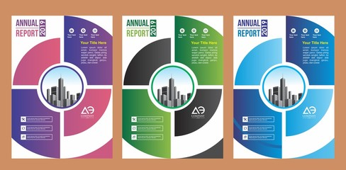 cover set, layout, brochure, flyer design for company, event, and report