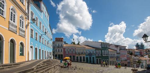 Streets of Pelourinho, Salvador Bahia Brazil