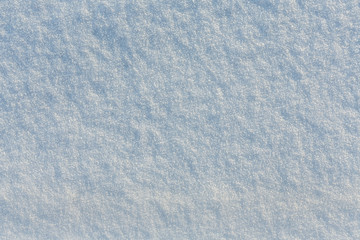 Blue frosty surface / Winter snow texture weather background