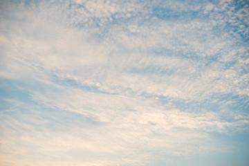 beautiful winter Cloudy sky texture