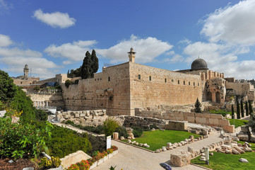 The Western Wall and Temple Mount in Jerusalem