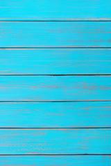 Bright blue wood background summer beach vertical