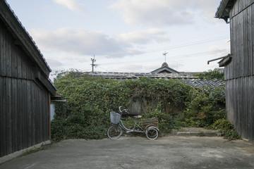 長崎の島の街並み