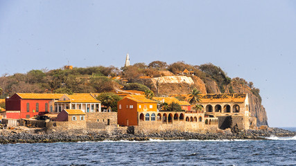 Goree Island,  UNESCO World Heritage Site. Former slaves island