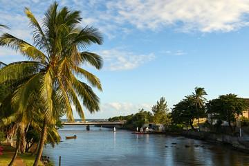 View on Rivière d'abord, Saint-Pierre, Reunion Island