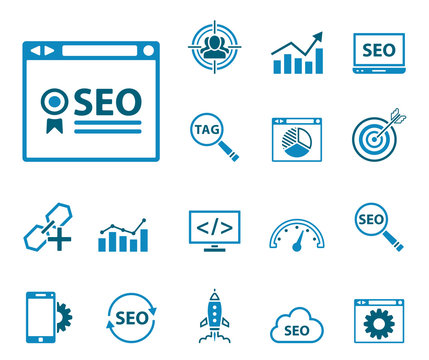SEO Website - Iconset