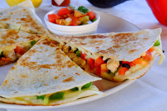 Mexican quesadillas