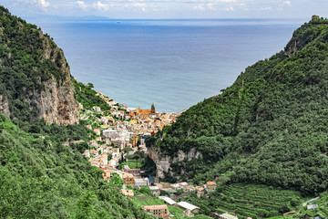 Amalfi valley of the mills