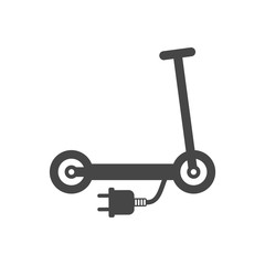Electric scooter symbol, Scooter icon