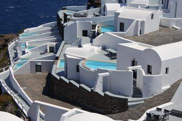 Urlaub auf der Insel Santorin